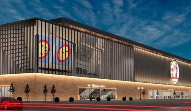 Монолитные конструкции центров самбо и бокса в Лужниках  готовы на 85%