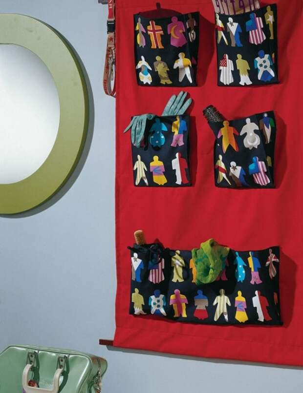 Подборка панно с карманами