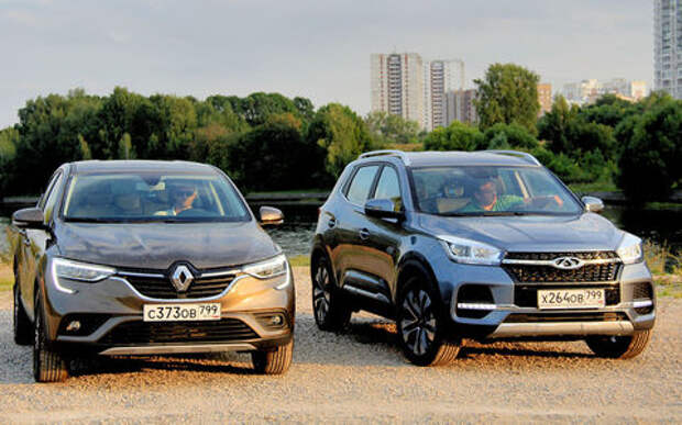 Блог Петра Меньших: Renault Arkana против Chery Tiggo 4