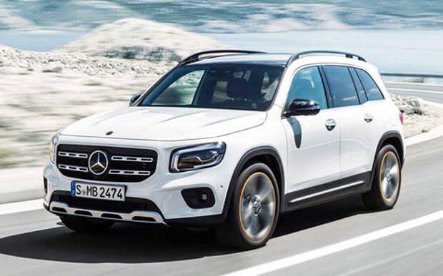 Mercedes-Benz представил маленький-большой GLB