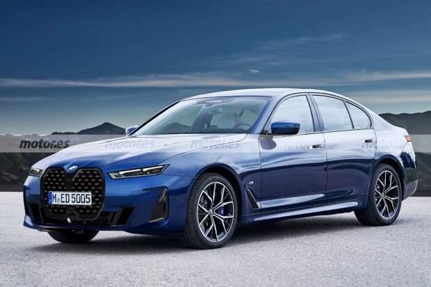 Новый BMW 5-Series 2024 показали на первом рендере