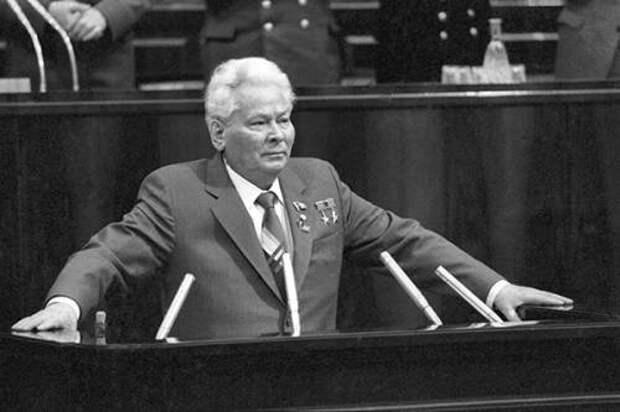 К.У. Черненко – генеральный секретарь ЦК КПСС 1984 - 1985 ...