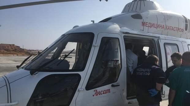 Республика Крым потратит более 46 миллионов рублей на предоставление вертолётов для санавиации