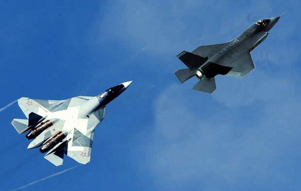 Новейшие истребители России и Китая скоро лишат США превосходства в воздухе