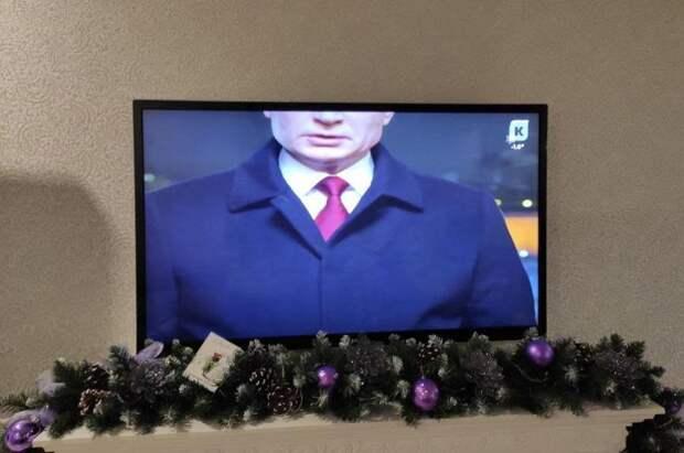 Местный калининградский телеканал исказил поздравление Владимира Путина