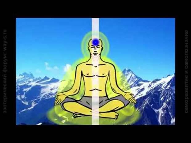 Саморазвитие через медитацию на чакры.