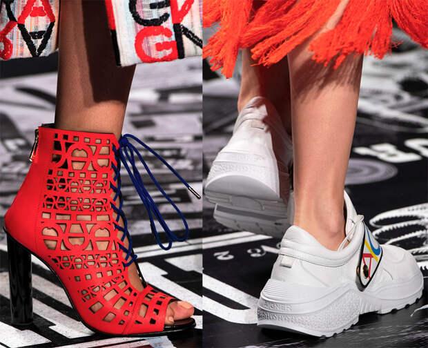 Стильные сумки и обувь с модного показа Aigner 2019