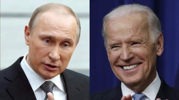 Американцы обсудили отличия Путина и Байдена