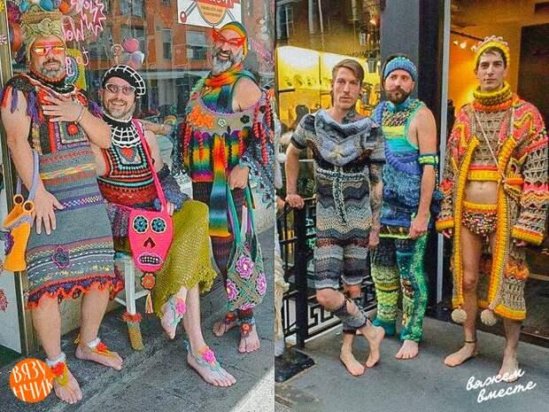 Оригинальные вязаные вещи, которые невозможно носить. А нужно ли?