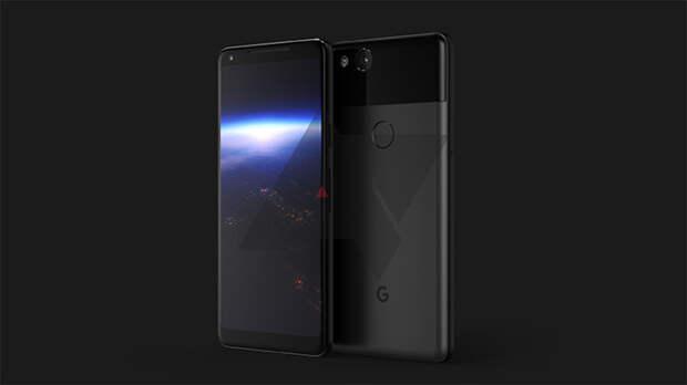 Опубликованы рендер и некоторые характеристики Google Pixel XL 2017 с безрамочным дизайном
