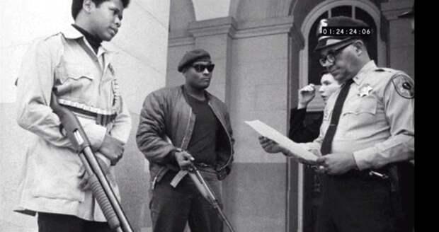 Социальные конфронтации в США 1960-х - 1970-х годов: Леворадикальная Партия черных пантер   (10)