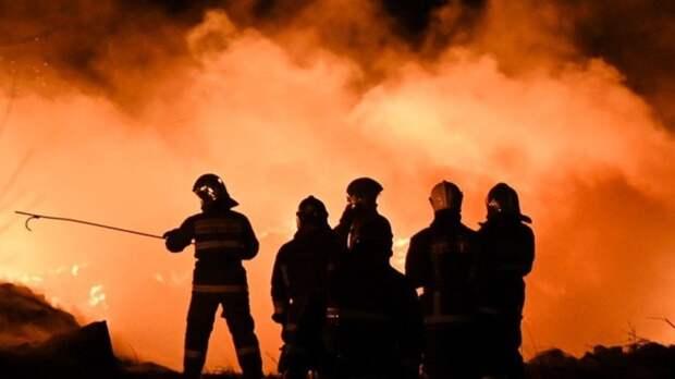 Видео с места взрыва в Нижегородской области появилось в Сети