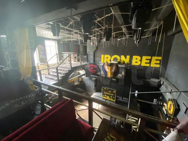 В Рязани сдают в аренду помещение Iron Bee бара