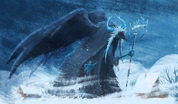 Женщина с мечом, козёл и кот: Кого боялись зимними ночами разные народы