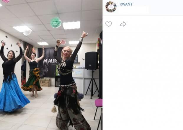 В досуговом центре KWANT на Синявинской прошла восточная вечеринка