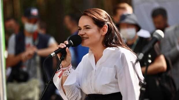 Тихановская рассказала США, как действовать против Лукашенко