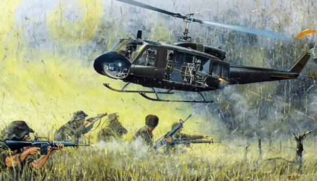 В США начинается второй Вьетнам: по вертолетам уже ведут огонь с земли