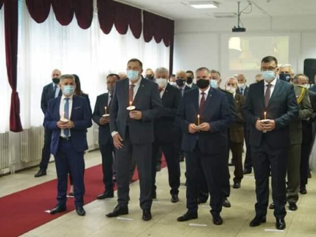 Боснийские сербы отмечают День Войска Республики Сербской