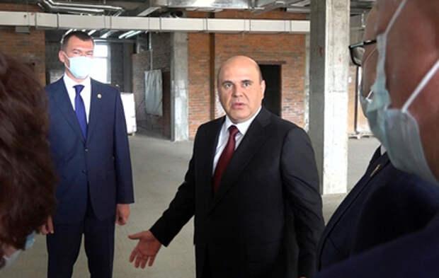 Мишустин потребовал достроить детскую больницу в Комсомольске-на-Амуре