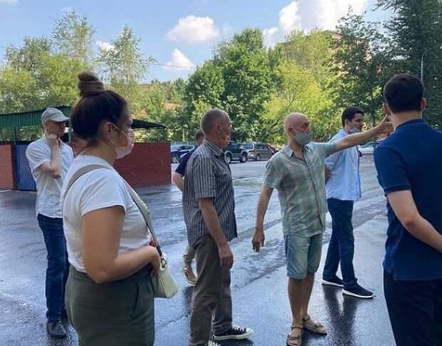 Глава управы района провел обход по территории Войковского
