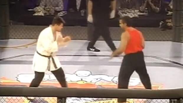Тактаров напомнил, как выиграл свой первый бой в UFC в 1995 году: видео
