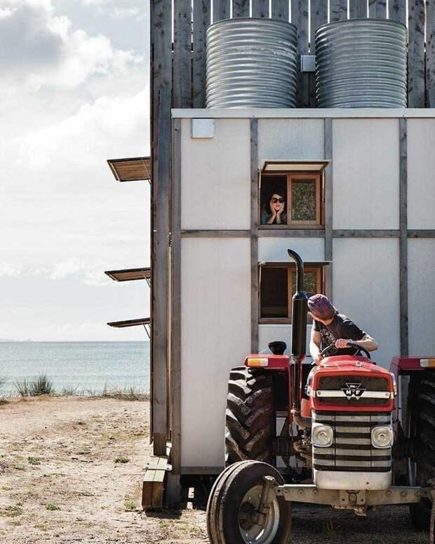 Прекрасный пляжный домик, в котором со всеми удобствами проживает семья из пяти человек архитектура, в мире, домик, недвижимость, пляж, семья
