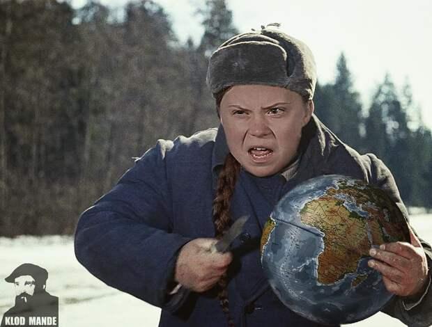 9 угарных фото, на которых объединены советские и голливудские фильмы