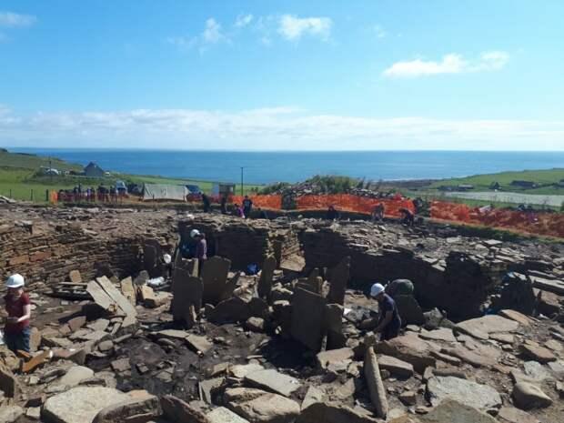 Кэрнс Брох,  Оркнейские острова. \ Фото: archaeologyorkney.com.