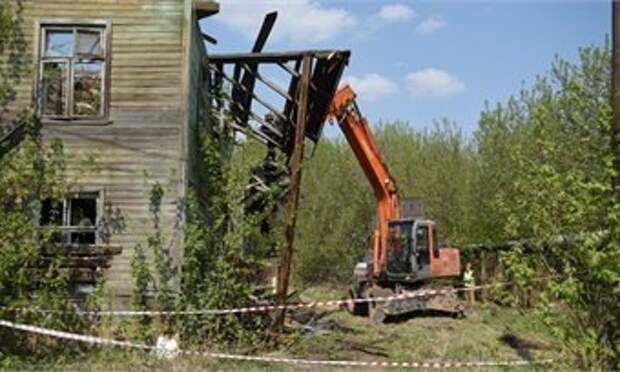 В нынешнем году в Кирове планируют расселить 65 аварийных домов