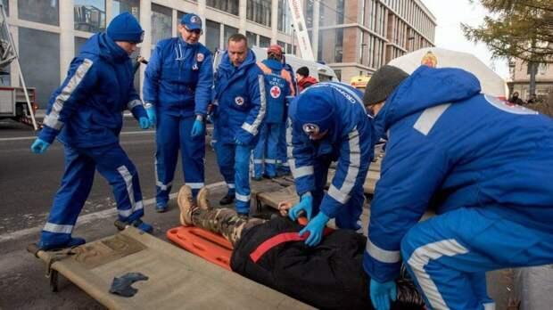 Два человека едва не погибли при обрушении перекрытий здания под Новосибирском