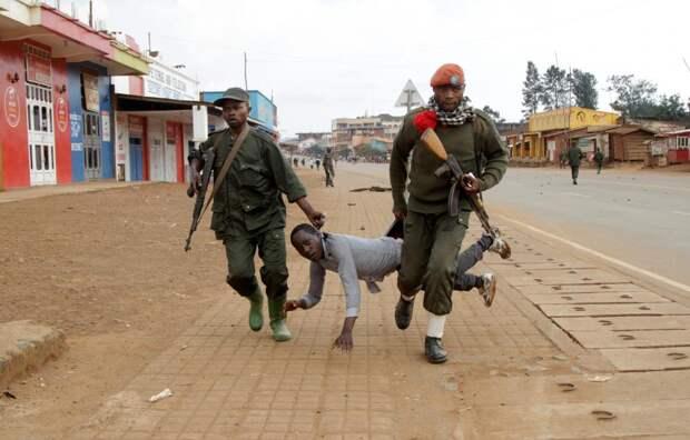 Конголезские солдаты