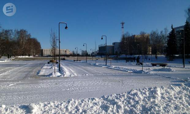Использование песка на дорогах Ижевска сокращено до минимума
