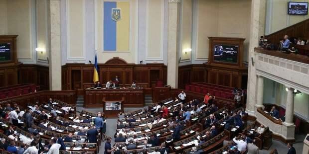Депутаты Верховной Рады подрались из-за закона