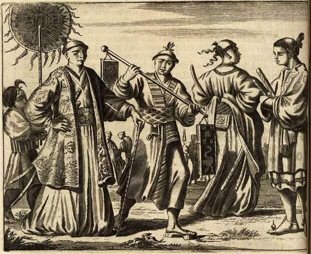Япония глазами европейцев на гравюрах - 1670 год (7)