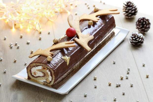 французский торт «Полено» (la buche de noel)
