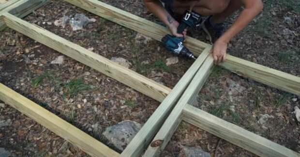 Как сделать садовую дорожку из дерева своими руками