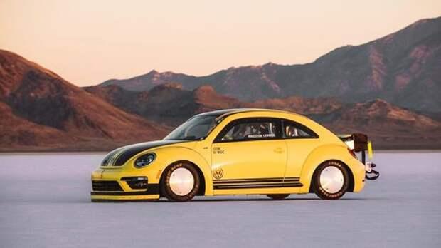 Скорость со вкусом соли: самый быстрый Volkswagen Beetle в мире
