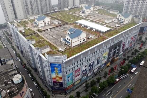 В Поднебесной возникают города... на крышах городов
