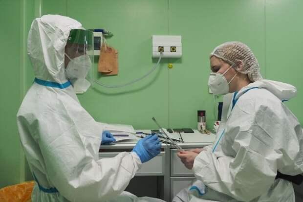 В России число случаев заражения коронавирусом увеличилось на 8 217
