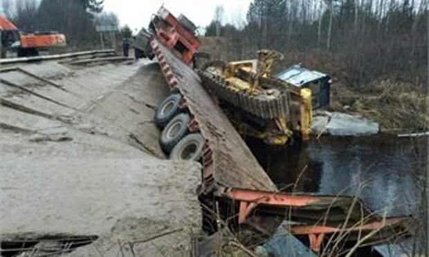 На Вологодчине за три года отремонтируют 20 мостов