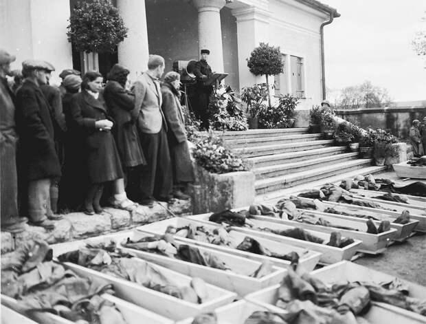 Как простые немцы хоронили жертв нацизма