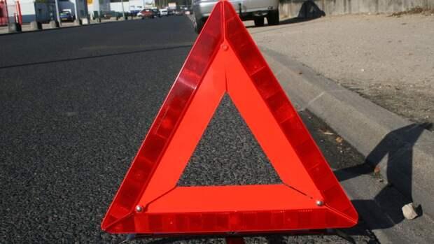 Авария стала причиной перекрытия движения по улице Красной Пресне в Москве