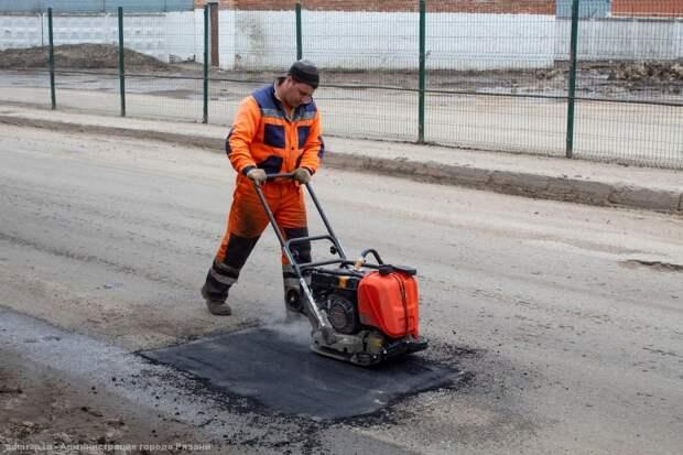 Ремонт дорог на четырёх рязанских улицах взят под строгий контроль