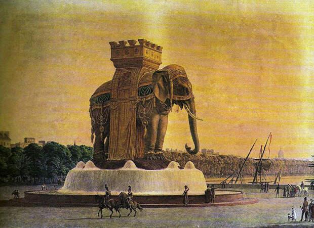 Слон должен был поражать воображение каждого, кто его увидел.