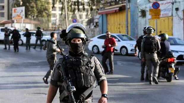 Шесть полицейских пострадали при попытке теракта в Иерусалиме