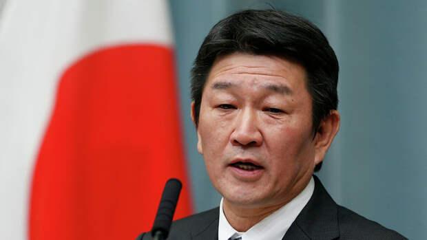 Глава МИД Японии Мотэги заявил, что действия Пхеньяна представляют угрозу для мира
