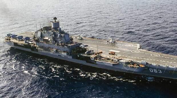 Новый российский авианосец обойдется в полтриллиона рублей