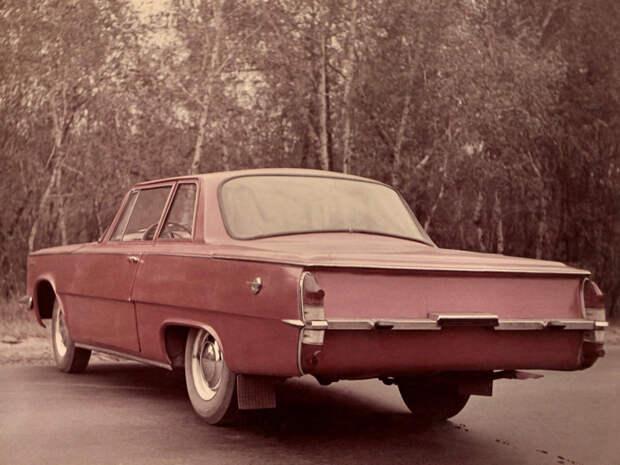 """САРБ """"Заря"""" - советское купе целиком из пластика, на базе ГАЗ-21"""