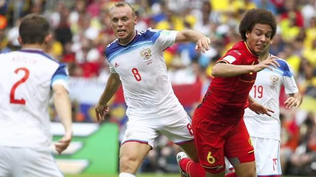 Сборная России по футболу столкнётся на домашнем поле с командой Бельгии