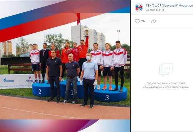 Юные пятиборцы из Северного завоевали медали на Первенстве России